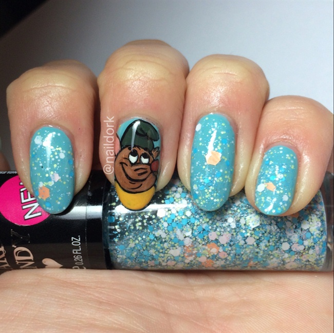 Cinderella Castle Nail Art - Nail Art Ideas