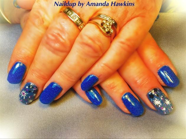 The Blue Galaxy 🌌