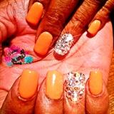 Orange And Bling