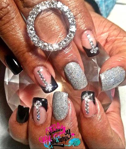Black & Silver Custom Full set