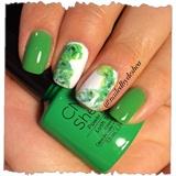 shellac oh green