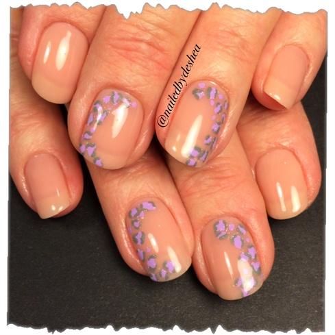 lavender leopard