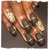 matte leopard