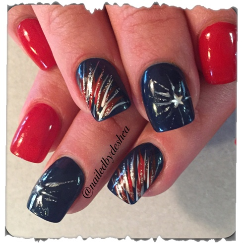 July 4th Nails Nail Art Gallery