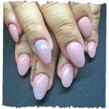 Pink Almond Glitz