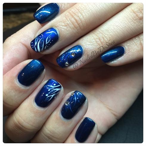 blue dreams  nail art gallery