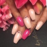 Pink Chrome & Diamonds
