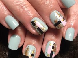 nail art: Abstract Thang
