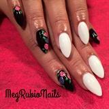 Black And White/roses