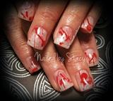 Halloween Blood Splatter