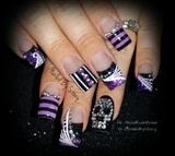 Halloween Haunted Circus Nails
