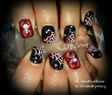 Itsy Bitsy Spider.... Halloween Nails ;)