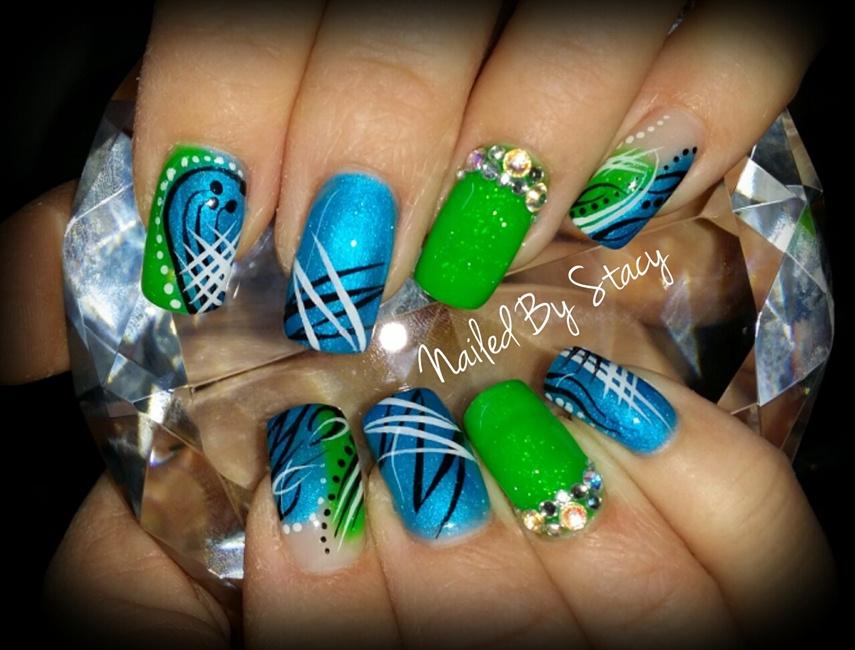 Jolly Rancher Nails - Nail Art Gallery