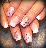Pink Christmas Nails