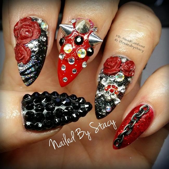 HEAVY METAL - Nail Art Gallery