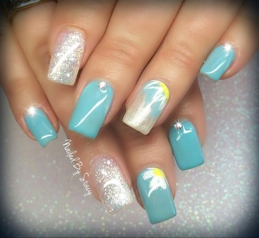 Tiffany Blue Nail Art: Nail Art Gallery