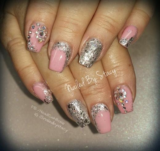 Pink Birthday Nails Nail Art Gallery