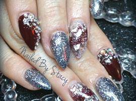 Christmas winter nails