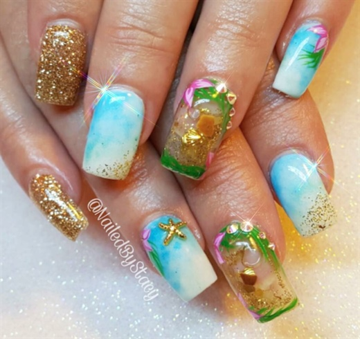 Aquarium Nail
