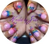 Multi Color Stilettos
