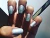 Silver Chrome Gel Polish