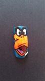 Daffy Duck Nail Design