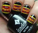 Marmite nails