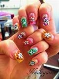 Multi-Coloured Nails