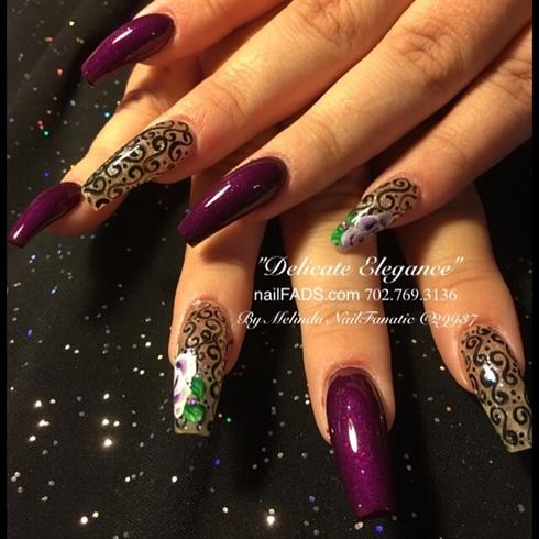 Delicate Elegance by Melinda NailFanatic