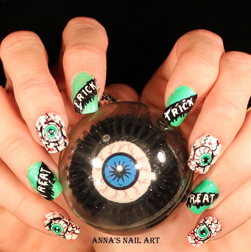 Halloween-Crazy Eyeball
