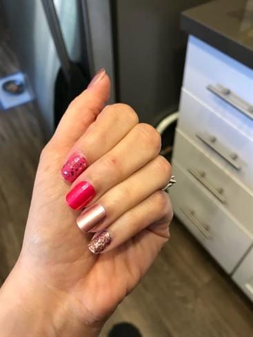 Pink & Glitter Mixture