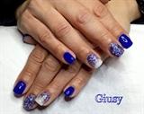blu e glitter