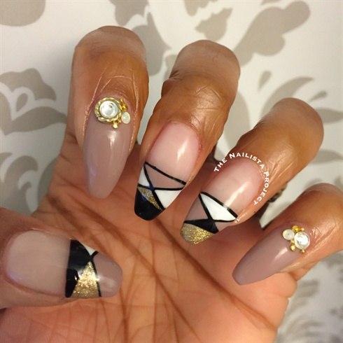 Japanese Nail Art Inspired Gel Mani
