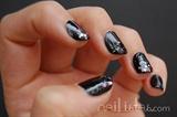 Rockstar black and glitter