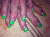 Neon Green Acrylic