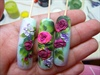 one bead 3d roses