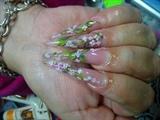 sakura flower only one bead per flower