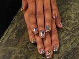 Minx Nails Flower