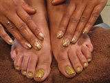 Minx Gold and Rock Star Gold
