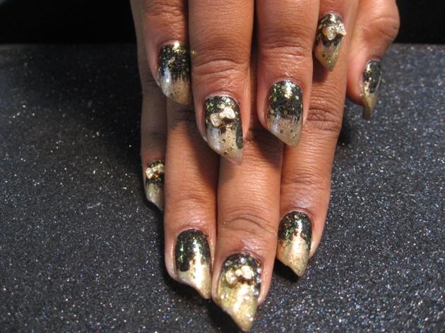Gold and Black Diamonds