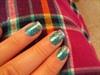blue w/ sparkle fade