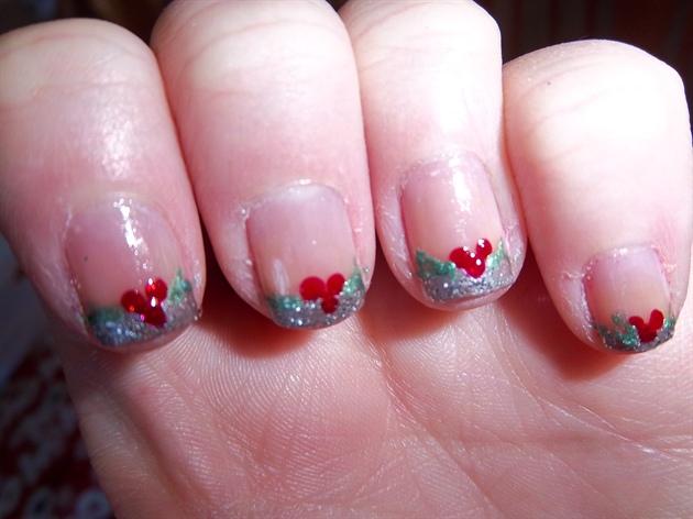 holly or mistletoe