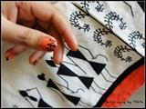 Warli print nails