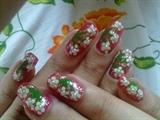 pearl floral design