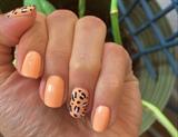 Easy Leopard Print Manicure