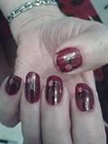 More Rose Nail Art