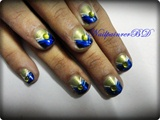 Cute abstract nails