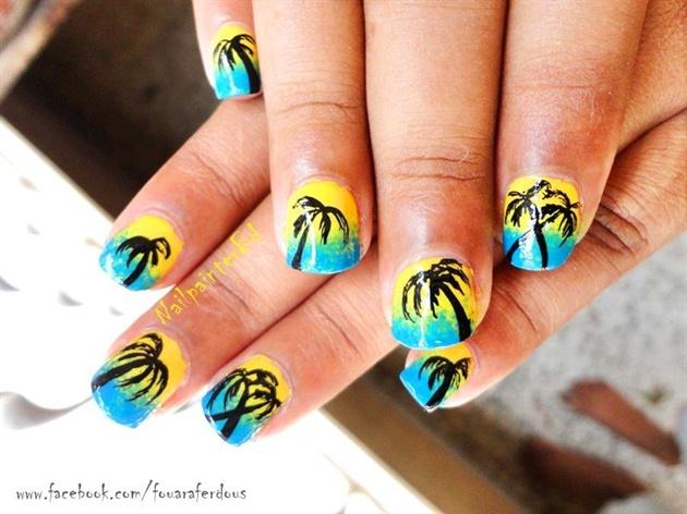 Beach Nails Nail Art Gallery
