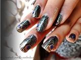 Peacock Nails!!!