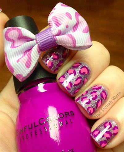 Pink & Purple Leopard